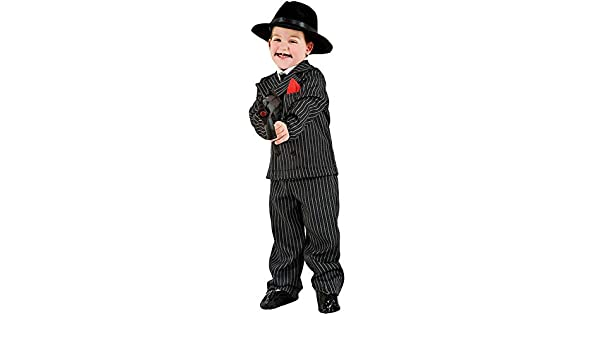 VENEZIANO Disfraz Gangster Vestido Fiesta de Carnaval Fancy Dress ...