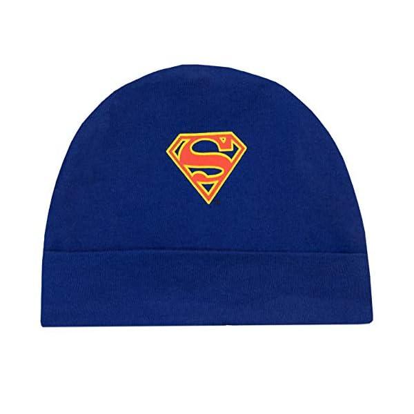 DC Comics Tutina da Notte e Cappello per Bambino Superman 3
