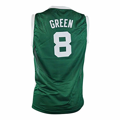 (adidas Jeff Green Boston Celtics NBA Green Official Road Replica Basketball Jersey for Toddler (2T))