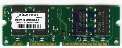 Gigaram 256MB 100pin PC2100(266Mhz) 32x8 DDR SODIMM