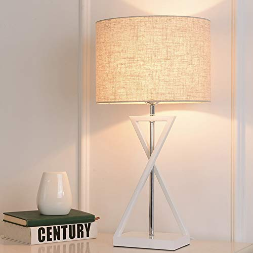 Raw Brass Table Lamp - nouler Warm Light Modern Reading at Night Table Lamp Creative Fashion for Bedroom Hallway Home Office Desk lamp Eye-Care Eye-Caring/White/One Size