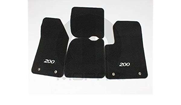 GGBAILEY D60224-S1A-BLK/_BR Custom Fit Car Mats for 2017 Passenger /& Rear Floor 2018 Toyota 86 Black with Red Edging Driver