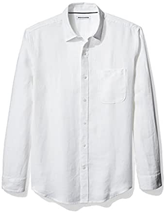 Amazon essentials men 39 s regular fit long for Where to buy button down shirts