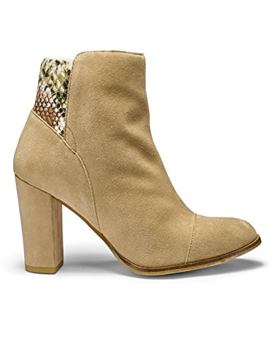 Womens Sole Diva Ankle Boots Tan, 6