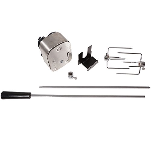 "Titan Outdoors 4W Rotisserie BBQ Motor Kit 36"" Spit Grills Chicken Turkey Gyro"