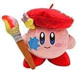 """LB Kirby of The Stars Collection: Kirby Artist 6"""" Plush (KIRBY1460)"""