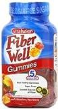 Vitafusion Vitafusion Fiber Gummies Excellent for Fiber Gummies Peach Strawberry and BlackBerry Flavors (4 Pack)(220 Count)(880 Gummies)(Package VARYS)