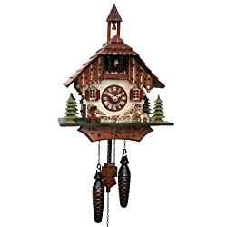 ISDD Adolf Herr Quartz Cuckoo Clock - The Black Forest Farm House