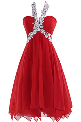 DINGZAN-Applique-Halter-Chiffon-Short-Graduation-Homecoming-Prom-Dresses