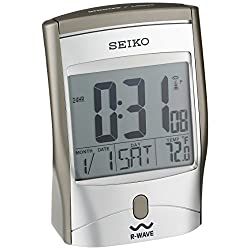 Seiko Advanced Technology Bedside Alarm Get Up and Glow Clock