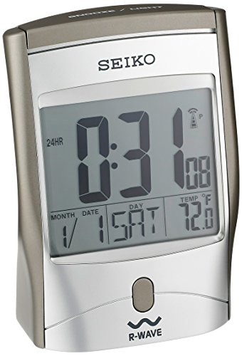 Seiko Advanced Technology Bedside Alarm Get Up and Glow Cloc