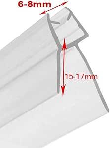 Tira flexible de plástico para puerta de ducha, ideal para cristal ...