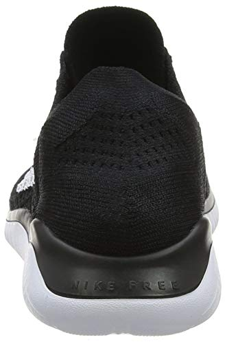 Nike Nero Wmns Donna Running Flyknit 2018 RN Black 001 White Scarpe Free 88pwUxr