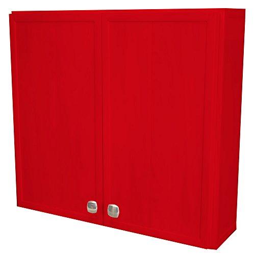Waterproof Over the Toilet Bathroom Cabinet, 2 Door, (23 3/8 inch wide, 7 inch deep, 22 inch tall) by ERTEL