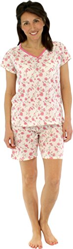 Sleepyheads Women's Sleepwear Cotton Short Sleeve and Shorts Pajama Pj Set