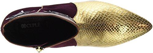 Multicolour Oro Boots Cuplé Ankle Women's Serpiente Setter Vino Botin 8wwWqHTpB