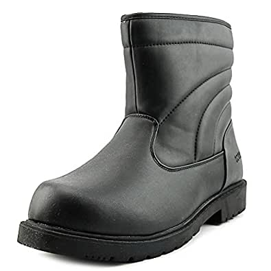 Amazon.com | totes Mens Waterproof Snow Boot, Black, 13