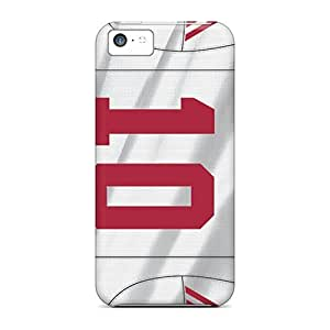Best Hard Cell-phone Cases For Iphone 5c (eVO3853wSAx) Custom Vivid New York Giants Series