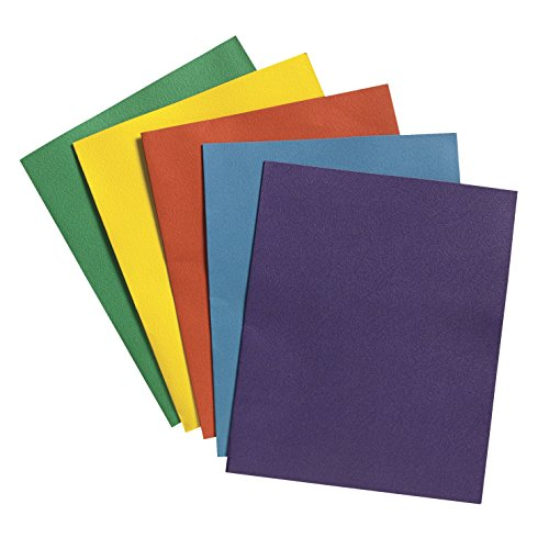 School Smart (084886) 2 Pocket Folder - 9 x 12 inch - Pack of 25 - (Folders Online)