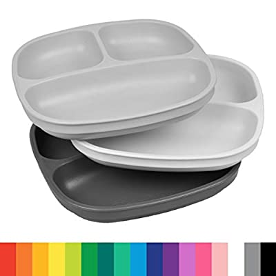 Re-Play Divided Plates, 3-Count