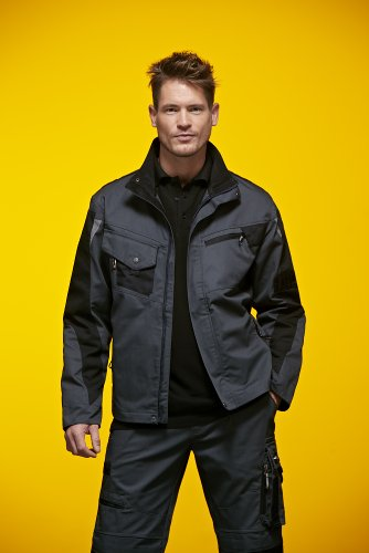 James & Nicholson, Messieurs, Workwear Jacket Cordura Royal