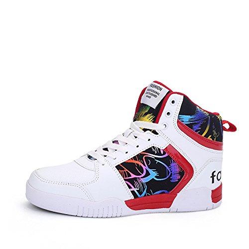 dimaolv chaussures masculines printemps Été Été Été automne microfibres synthétiques du tulle blanc pour les baskets plein air confort... eea808