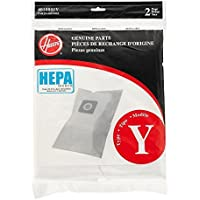Hoover Type Y HEPA Filter Bag, Set of 4 bags