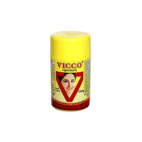 Vicco Vajradanti Tooth Powder 200 Gram (Best Toothpaste In India For Yellow Teeth)