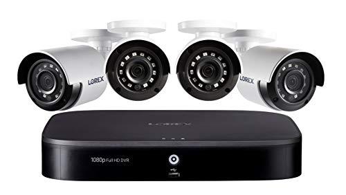 Lorex 1080p Weatherproof Indoor/Outdoor Wired Home Surveillance Security System