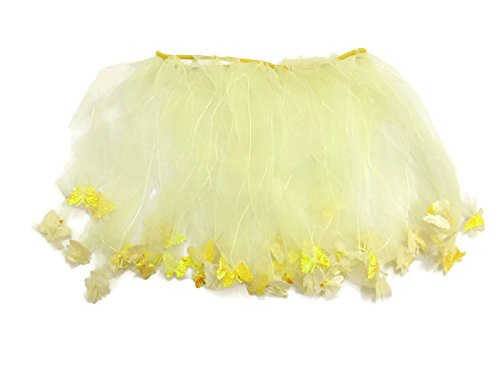 Rush Dance Ballerina Girls Dress-Up Fairy Butterfly Tinkerbell Costume Tutu (Kids (3-6 Years Old), Yellow) - Toddler Ballerina Tinkerbell Costumes