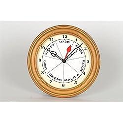 DayClocks 10 in. Contemporary Wall Clock