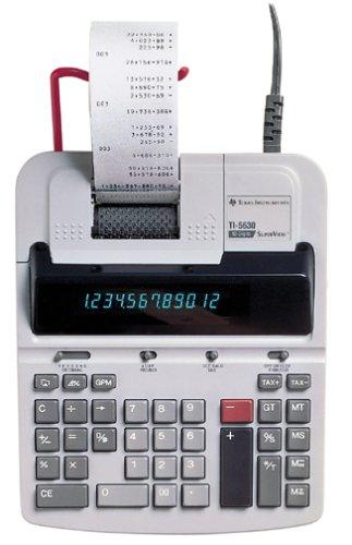Texas Instruments TI5630 Desktop Printing Calculator