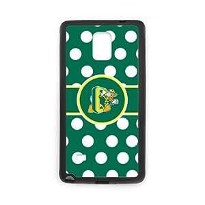 Cool Generic Custom Unique You Deserve NCAA Oregon Ducks Logo Plastic Case Cover for SamSung Galaxy Note 4 NCAA Oregon Ducks phone case