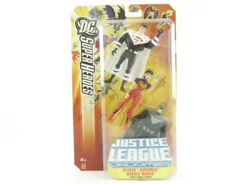 - JUSTICE LEAGUE UNLIMITED DC SUPER HEROES JUSTICE LORDS:BATMAN/SUPERMAN/WONDER WOMAN Figures
