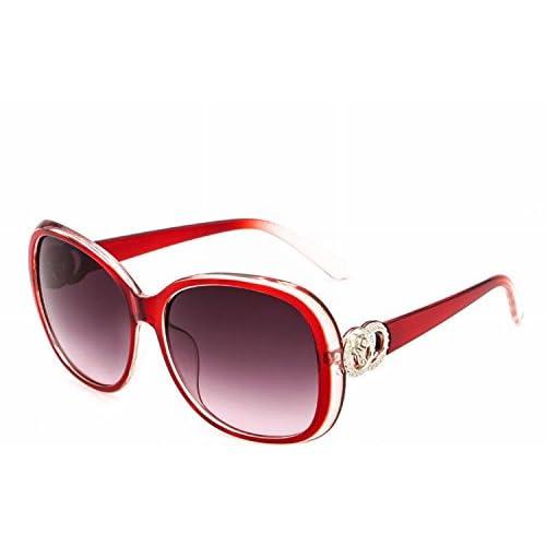 5414a8878e Gafas de Sol Grandes Del Marco de la Manera Gafas de Sol Retras Vidrios  Unisex Cobre