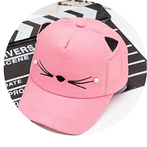 赤ちゃんの女の子 かわいい耳のコーナー 野球のキャップ 子供のリバウンド 夏 調節可能な 帽子,3