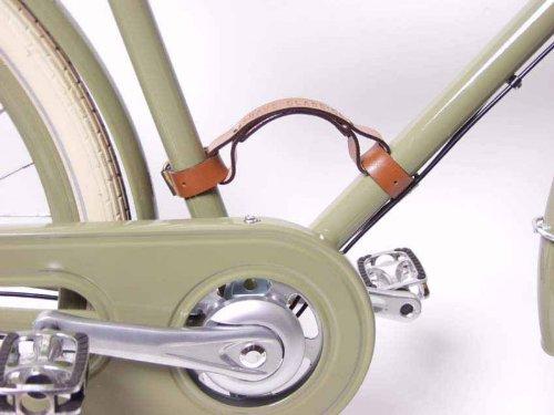 Vintage City Bag Brave Classics Maniglia portabici in cuoio attacco al triangolo telaio marrone // Handle bike transportation leather frame triangle mounting brown Borse Vintage City
