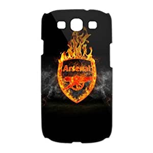 Arsenal Football Club Galaxy S3 Case Hard Plastic Arsenal FC Soccer Football SamSung Galaxy S3 I9300/I9308/I939 Cover HD Image Snap ON