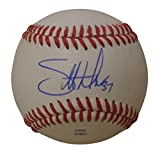 Toronto Blue Jays Scott Downs Autographed Hand Signed Baseball with Proof Photo of Signing, Chicago White Sox, Atlanta Braves, Los Angeles Angels, COA