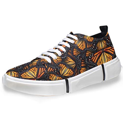 Heaps of Monarch Butterflies Casual Shoes Men Net Sports Running Shoes Custom]()