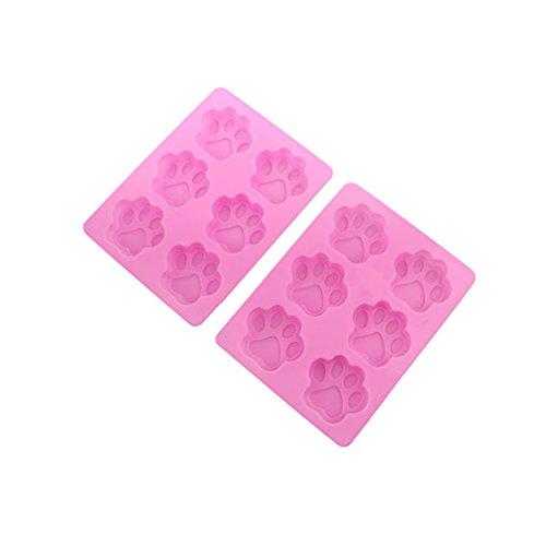 yinew 1pieza cachorro perro molde de silicona cookies molde de postre: Amazon.es: Hogar