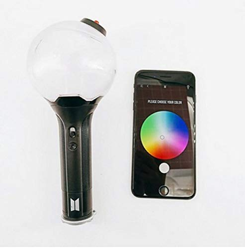 - SoftWolf Hot BTS Official Light Stick Army Bomb ver 3KPOP BTS Light Stick mit Bluetooth Ver.3 (Colorful, one Size)