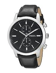 Fossil Men's FS4866 Townsman Analog Display Quartz Black Watch