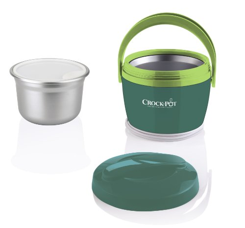 Crock-Pot Lunch Crock Food Warmer, 20 ounce, Green