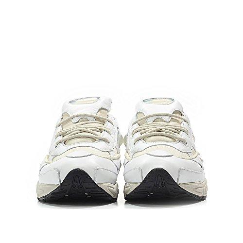 Adidas Par Des Hommes Raf De Simons Ozweego Iii Blanc / Talc / Couleur Dalimentation