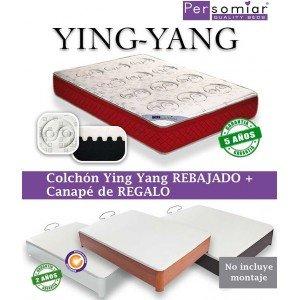 Persomiar Pack Colchón + Canapé de Regalo - Blanco, 150X190: Amazon.es: Hogar