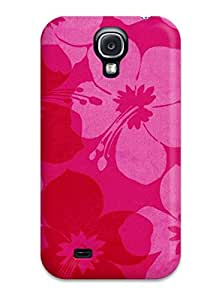 Hot Snap-on Pretty Floral Print Hard Cover Case/ Protective Case For Galaxy S4
