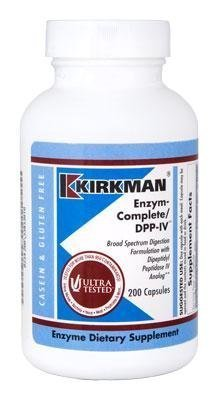 Kirkman Labs - EnZym-Complete/DPP-IV 200 Capsules by Kirkman Labs