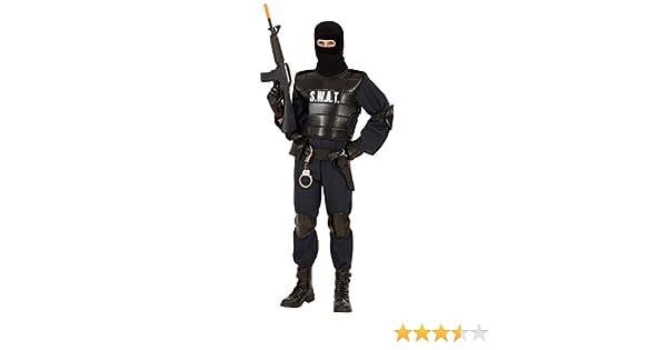 WIDMANN 55344 ? Adultos Disfraz SWAT Officer: Amazon.es: Juguetes ...