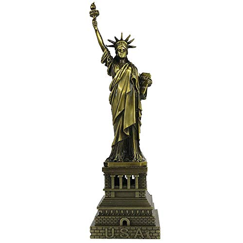 The Statue of Liberty Model Metal Crafts,Statue of Liberty Replica Metal Alloy, 7 Inch, Metal